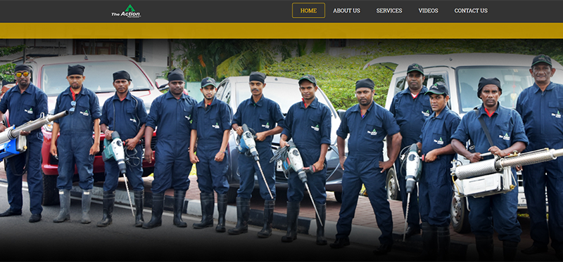 WEB4U - Action pest control (pvt) ltd