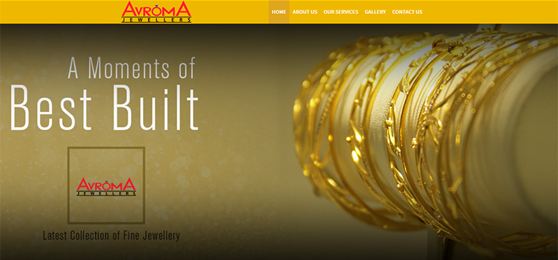 WEB4U - Avoroma Jewelers