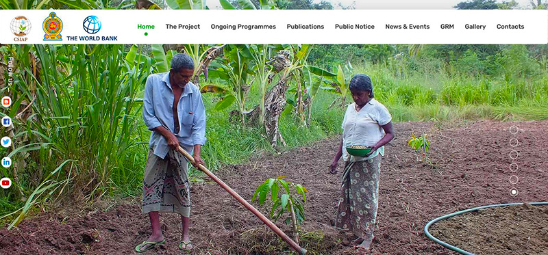 WEB4U - Climate Smart Irrigated Agriculture Project (CSIAP)