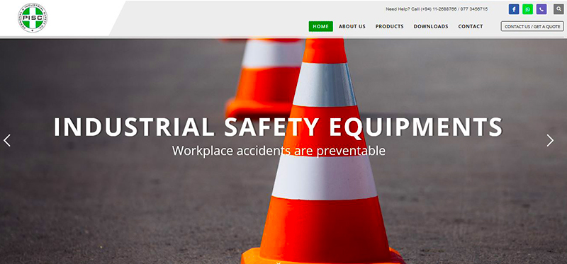 WEB4U - Personal & industrial safety co.