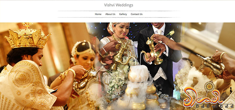 WEB4U - Vishvi Weddings